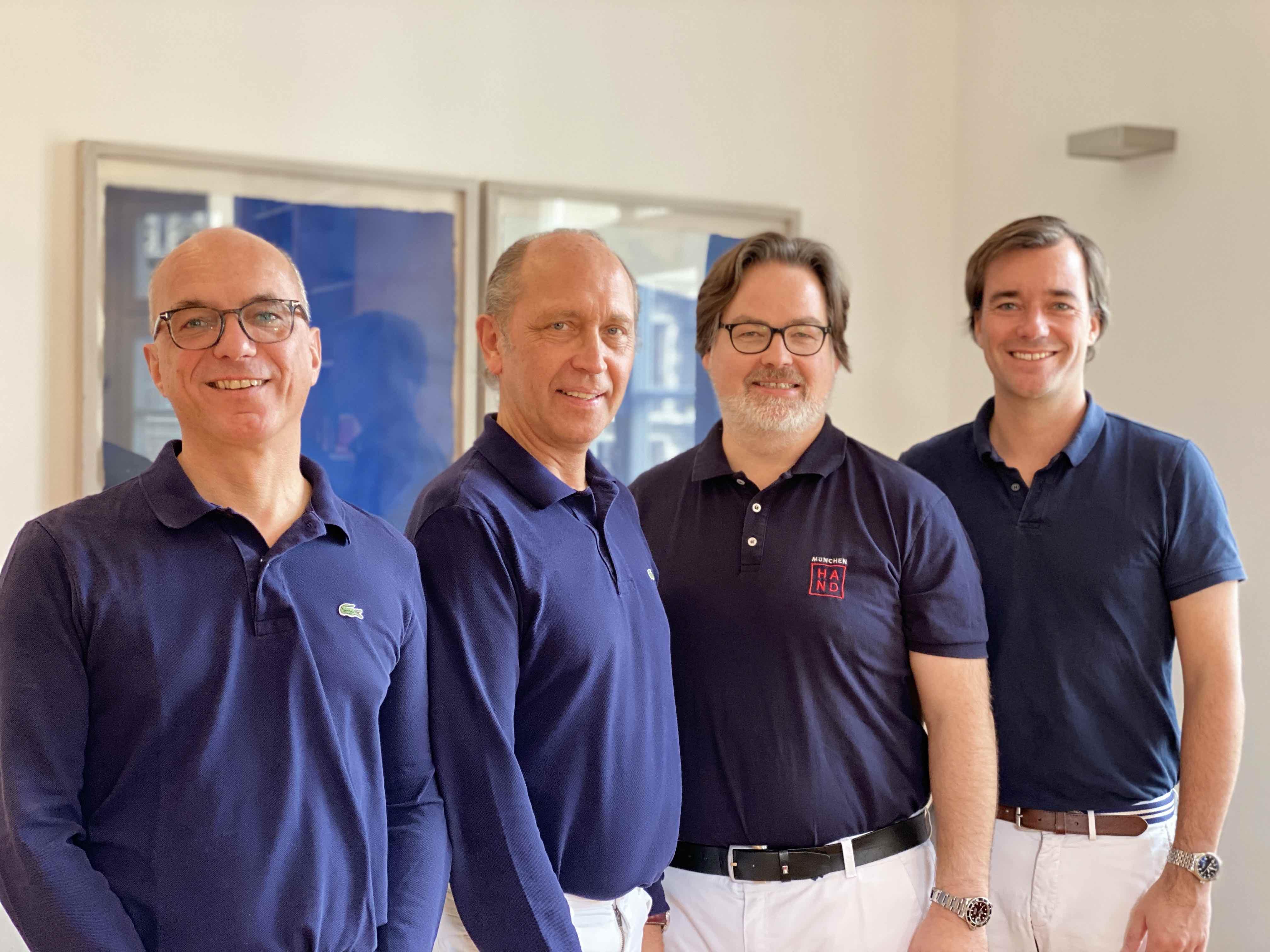 Drs. Heilmann, Frobenius, Deglmann, Zimmermann